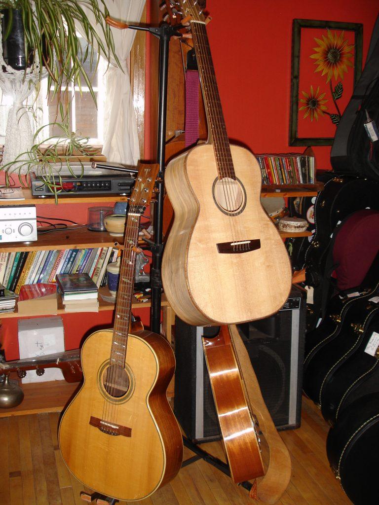 Three new limited-edition cutaway Spotlight guitars from